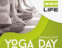 Posters, fitness club ENKA-LIFE