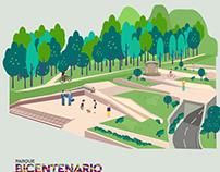 Parque bicentenario Bogotá Centro Internacional Imageid