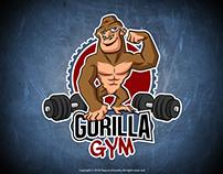 Mascot Logo for a gym