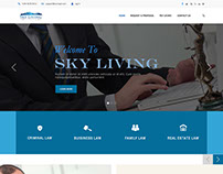 Corporate PSD Website Template Design