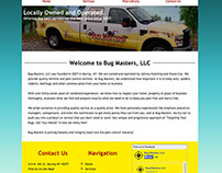 Bug Masters, LLC Business Website