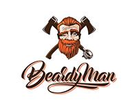 Logo for Beardy Man Coffeehouse