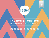 Footer | Socks Packaging Design