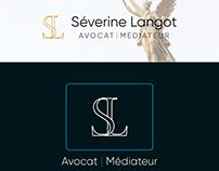 Identité visuelle Séverine Langot avocate