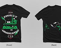 CED Graduation T-shirt 2014