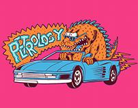 Godzilla on Ferrari x Petrology co.