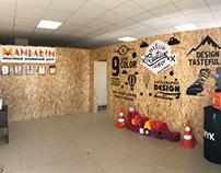 Офис дизайнерского центра