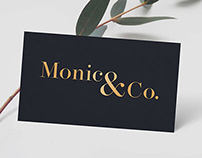 Monico & Co. Logo and Branding