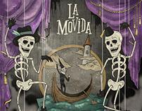 """Álbum """"Donde bailan los descuartizados"""" LA MOVIDA"""