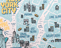 Fishs Eddy- NYC Map Tray
