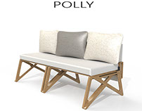 Polly - transformable sofa