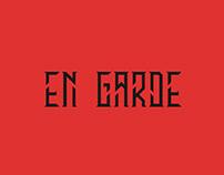 EN GARDE - FREE CONDENSED SERIF FONT