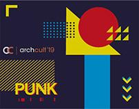 Archcult '19 - Event Branding.