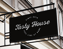 Tasty House - Brand Identity