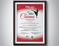 Dance school musical poster