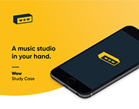 Wow - A music studio in your hand. Study case