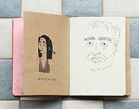 Sketchbook Reel 2017-2019 - illustration and journaling