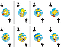 The Simpsons Playing Cards Stocking Stuffer