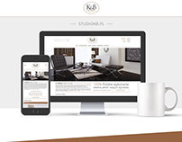 K&B Studio - Shop web design