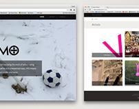 Interaction design // web design