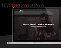 Thathrowdown music website