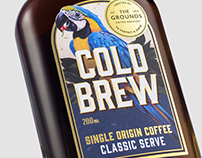 The Grounds cold brew range