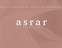 Asrar Collection - Branding Project
