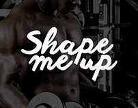 Shape Me Up Website Interface Design