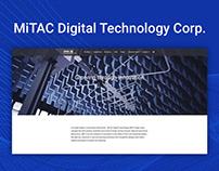 MiTAC Digital Technology Corporation Website