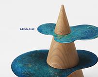 Aging Blue Time Design