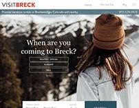 VisitBreck Website