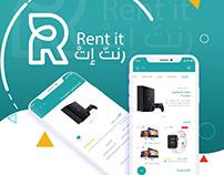 Rent it ios mobile app