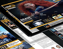 cinepremier | web UX