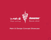Shawarmer Mobile App - UX/UI Case Study