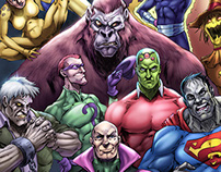 Legion of Doom colors