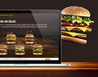 McDonalds / Kendi Burgerini Yarat