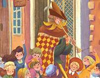 Pied Piper of Hamelin Picture Book