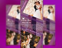 Wedding Service Rack Card