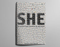 'She' Book Cover Design