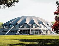 Arena, Poznań, Poland / Architectural visualisation