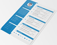 Free Clean Resume Template for Any Purpose