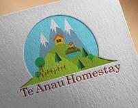 Te Anau Homestay Logo Design