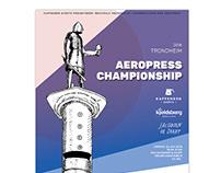 Poster - The Trondheim Aeropress Championship 2018