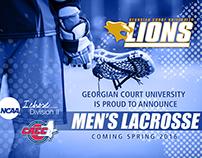 Announcing Men's Lacrosse at GCU