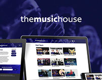 The Music House Website