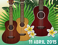 Poster Ukulele Workshop - APRIL 2015