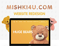 Teddy Bears landing page