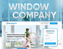 Window Company Landing Page