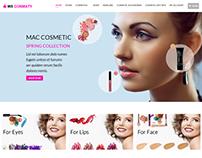 WS Cosmaty Cosmetics Store WordPress Theme