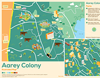 Aarey Colony Illustrated Map